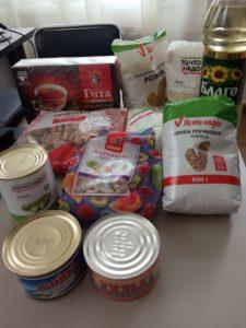 Принимаем продуктовую помощь в рамках проекта Твори добро